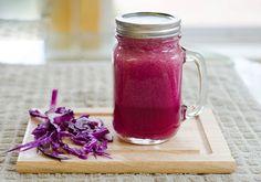 10 Beneficios del jugo de repollo morado.