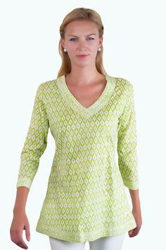 Spring Favorite: V-Neck Tunic from Gretchen Scott