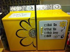 Fun idea! I just might paint my washer and dryer:)