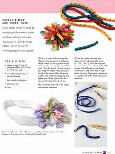How to make korker #ribbon #bows, from the new Complete Photo Guide to Ribbon #Crafts! #tutorial