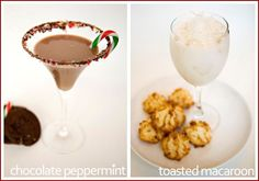 Christmas Cookie Cocktails!!!