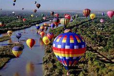 albuquerque balloon festival .. Balloon ride? =)