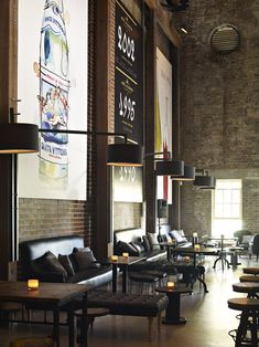 bar interior design, bar design, interiors, high ceilings, restaurant interior, industrial style, industrial design, restaurants, loung
