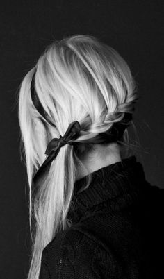 Pretty back of hair style Hair Styles