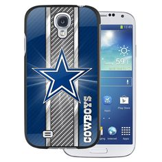 Team ProMark PCG4NF09 Polymer Hard Case for Samsung Galaxy S4 - Retail Packaging - Dallas Cowboys