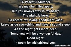 www.good night  world.com | Good Night Poems And Poetry Sweet Text Messages For Friends