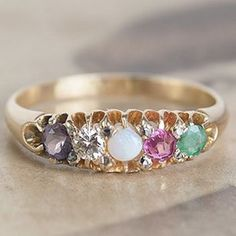 This wedding ring has a secret message we just love