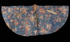 Cape. Coromandel Coast, India. 1750. Painted and dyed cotton chintz, lined with linen and wool. © Victoria and Albert Museum, London