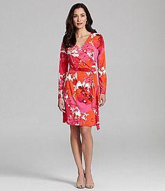 Jones New York Collection FauxWrap Dress #Dillards