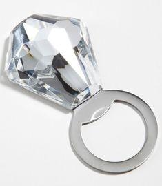 diamond ring bottle opener