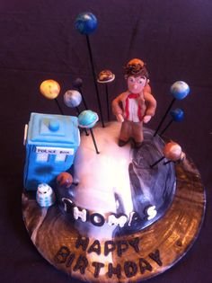 Dr. Who Cake  www.mama-cakes.ca