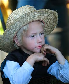 Amish child - USA