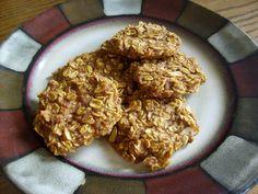 pimpkin oat cookies