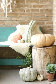 Bohemian Porch Bench