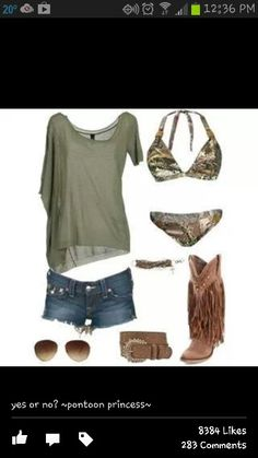 i like everything but the camo bathing suit...think ima pass on that