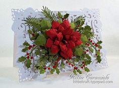 Classic Poinsettia, Holly and Pine (via Bloglovin.com )