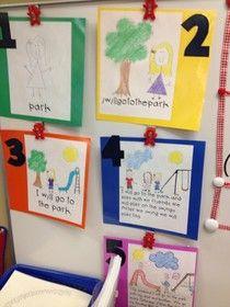 Kinder Creations: Writing Rubric