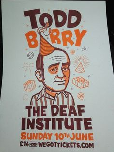 I wish there was a Todd Barry poster for Sled Island this year. I think he's funnier than all of the other comedians.