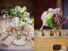 It's all so lovely. #wedding #events #centerpiece #flowers #books #vintage #love