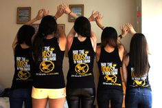 ZTA Hunger Games theme @ the annual NYU Greek Games! submitted by:umbrellastapler Wanttt.