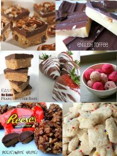 50 Easy and Delicious NO BAKE Desserts. Must remember for Christmas!