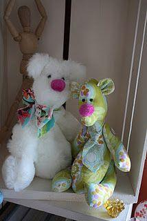 Fritzi Bear Pattern - too cute!