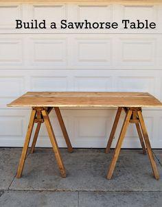 homeschool table.