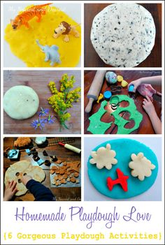 Why homemade playdough beats the store bought variety. Plus 6 engaging ways to play with it.