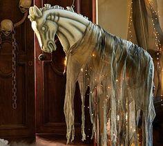 Ghost horse #potterybarn