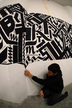 Urban Calligraphy – Greg Papagrigoriou et Simek