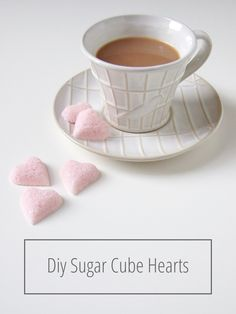 Diy Sugar Cube Heart