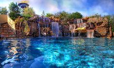 Luxury Pool, Backyard Pool, In Ground Pool