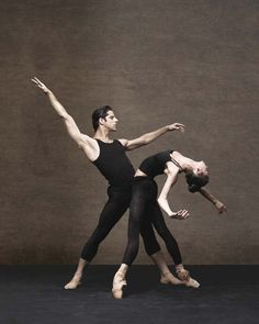 Polina Semionova and Marcelo Gomes in the Alexei Ratmansky World Premiere.   Photo: Fabrizio Ferri.