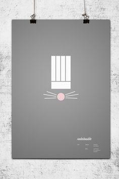 minimalist movie posters.