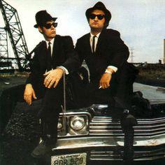 The Blues Brothers. Dan Akroyd and John Belushi