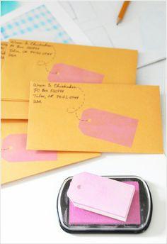 super pretty envelopes