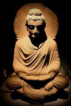 Gandhara Buddha - Greco-Buddhist art