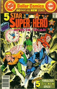Five Star Super-hero Spectacular, 1977, cover by Neal Adams.