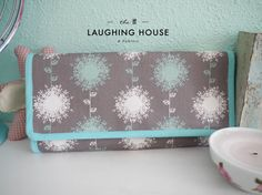 Cash Budgeting Purse Dandelion in Shrooms by thelaughinghouse, $32.99