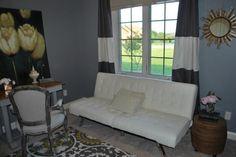 Eclectic Home Office - eclectic - home office - indianapolis - Sybil M. Sandlin
