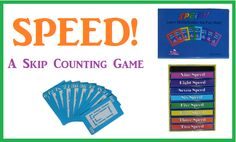 Living and Learning at Home: SPEED! A Skip Counting Game