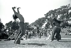 """Even the """"Societal Norms,"""" were something that the Hippies sought to free themselves from. Advocating to dress in comfortable robes as opposed to the constricting suits, to love any they pleased, and to move and dance as they wanted."""