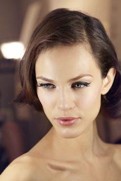 Wedding Makeup Winged Eyeliner : Bridal Beauty Diaries on Pinterest Black Tie Wedding ...