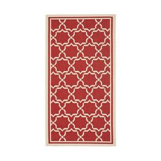 Mykonos Rug 2x3'7 Red, $24, now featured on Fab.