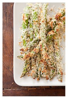 Parmesan Crusted Asparagus Recipe  - Cook's  Country recipe