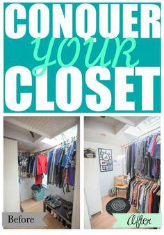 master closet makeov