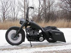 Murdered out bagger.