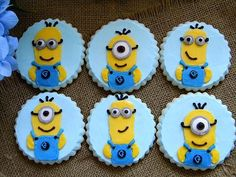 Despicable birthday cookies ~ My Sweet Things