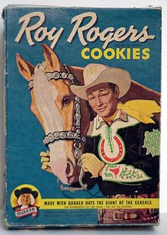 ROY ROGERS COOKIE BOX