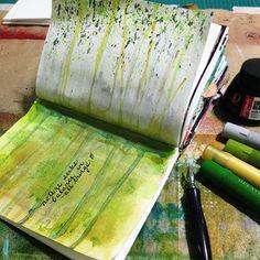 Faber-Castell Gelatos Art Journal: Nature